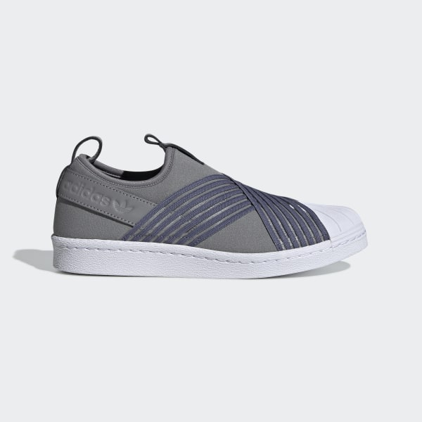 adidas Tenis Superstar Slip On W Gris | adidas Mexico