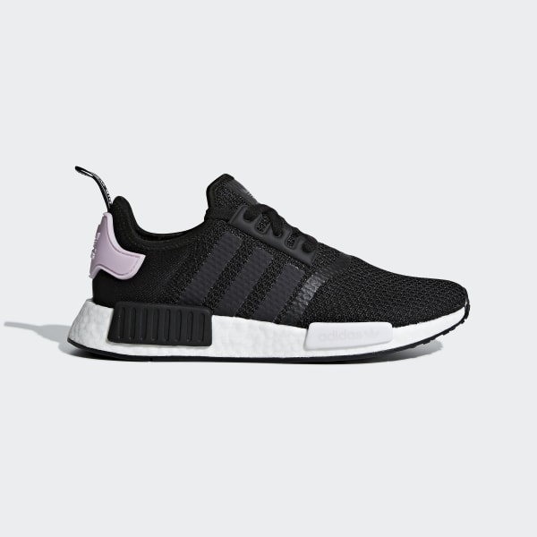 adidas nmd r1 black and pink