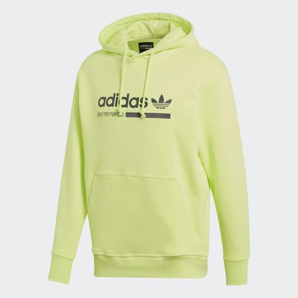 adidas hoodie neon green