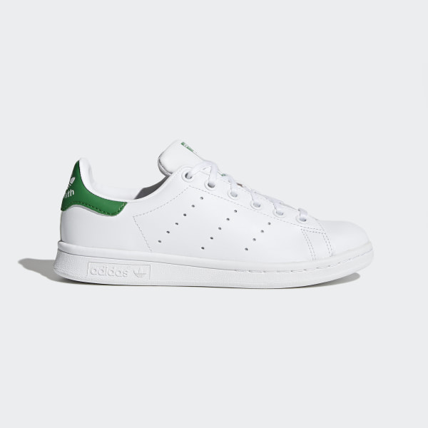 Género gene jamón  Kids Stan Smith Cloud White and Green Shoes | adidas US