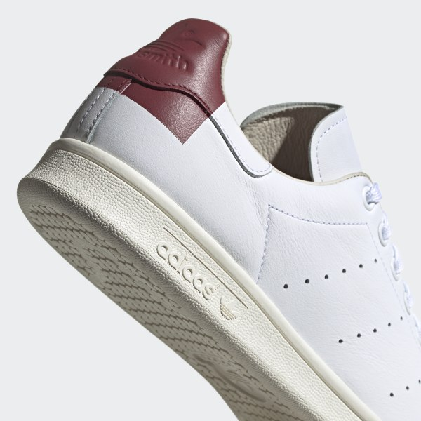 adidas adidas stan smith ee5784 cloud white burgundy