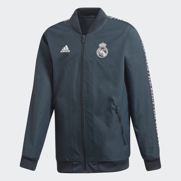 wholesale price get online sneakers adidas Real Madrid Anthem Jacke - Grau | adidas Deutschland