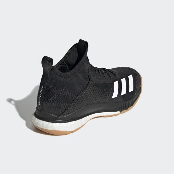 adidas Crazyflight X 3 Mid Shoes - Black | adidas US