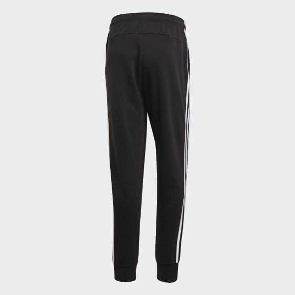 Pantaloni Essentials 3 Stripes Tapered Cuffed Nero adidas | adidas Italia