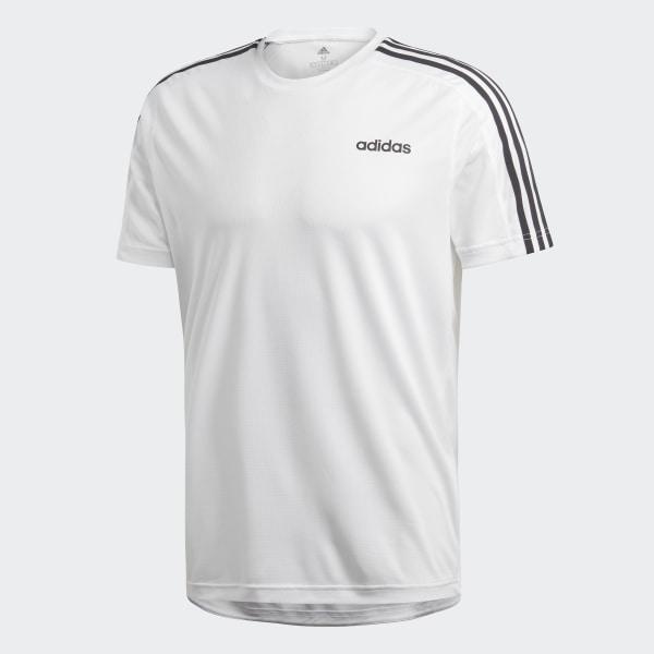 adidas Design 2 Move 3 Streifen T Shirt Weiß | adidas Deutschland