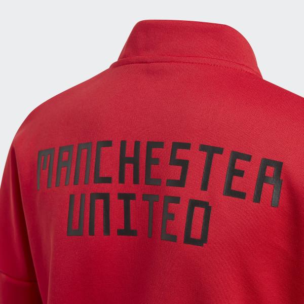adidas Manchester United adidas Z.N.E. Jacke Rot   adidas Austria