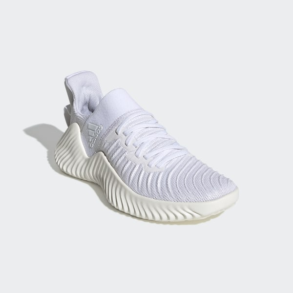 adidas Alphabounce EX Trainer Shoes - White | adidas Australia