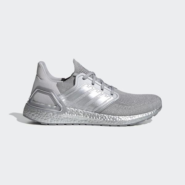 Ultraboost 20 Shoes Silver Metallic / Silver Metallic / Silver Metallic FV5336