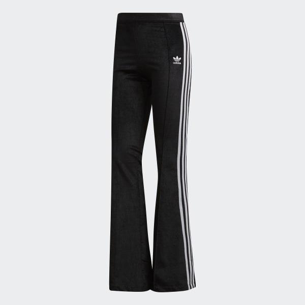 adidas Flared Track Pants - Black | adidas US
