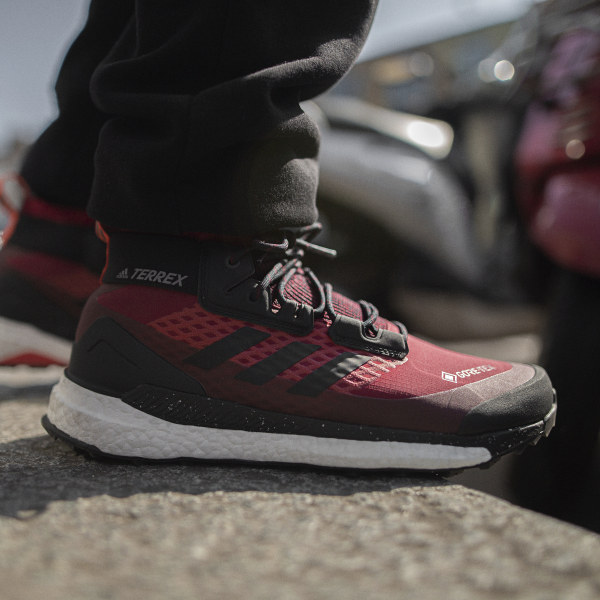 adidas TERREX Free Hiker GORE TEX Hikingschuh Weinrot | adidas Austria