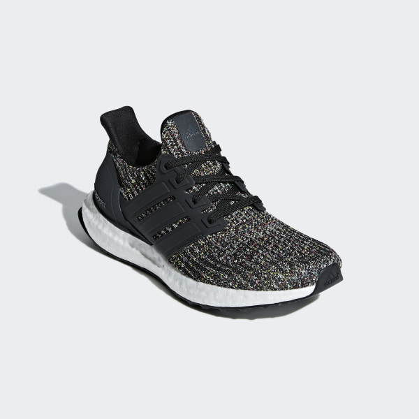 ultra boost running shoes carbon/black