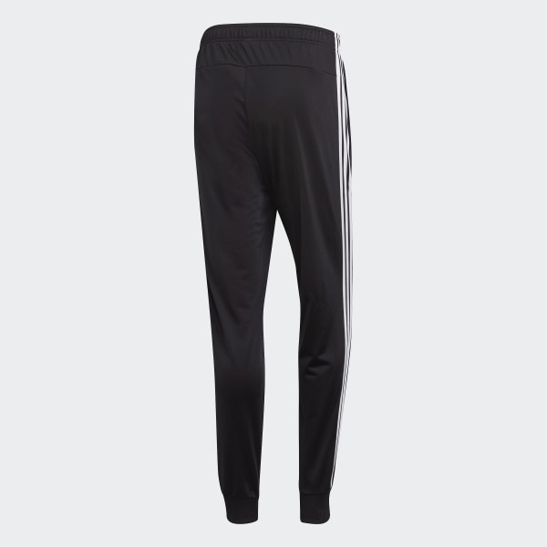 Details about Adidas Men ESS 3S Fleece Pants Training Black Running Tapered Sweat Pant DQ3095