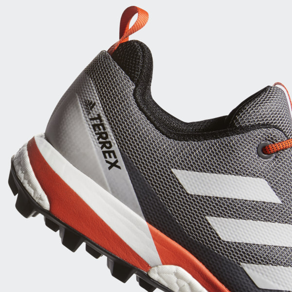 adidas Terrex Skychaser LT Schuhe Herren grey three grey one active orange