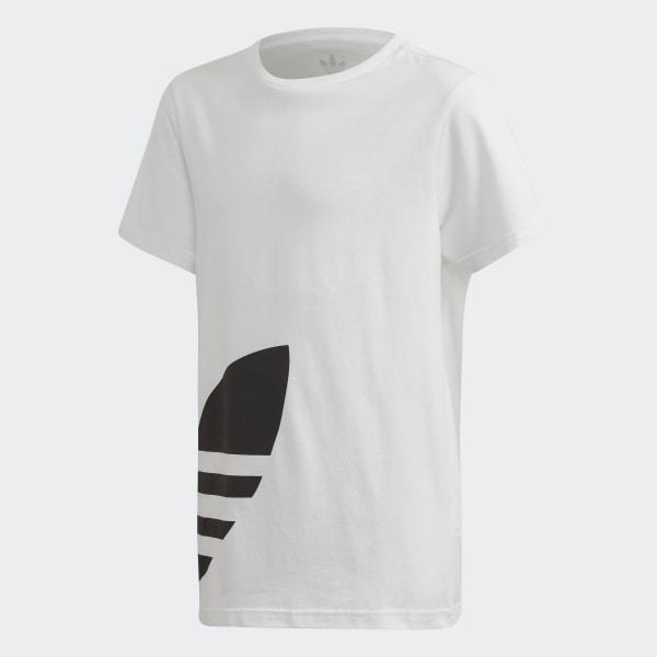 adidas Big Trefoil T Shirt Weiß | adidas Deutschland