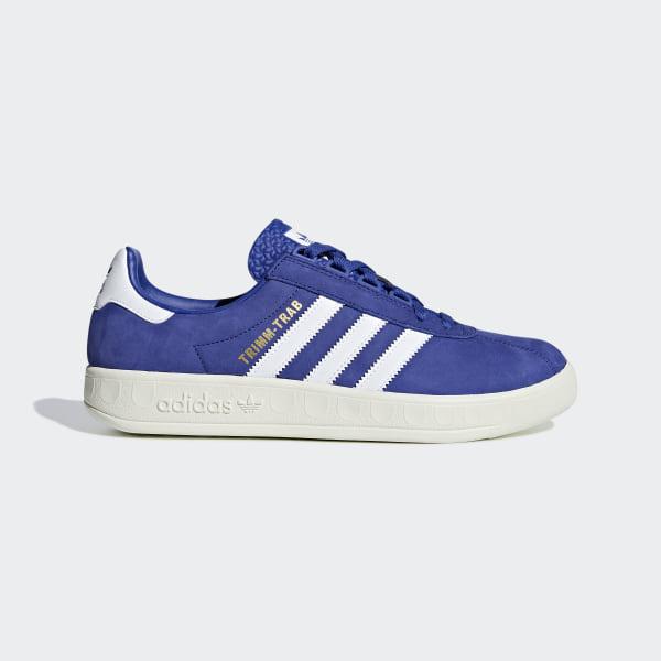 Siste Adidas Alphabounce 1 Parley HvitBlåHvit Løpesko Dame