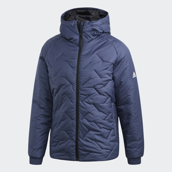 adidas BTS Winter Jacket Blue | adidas Ireland