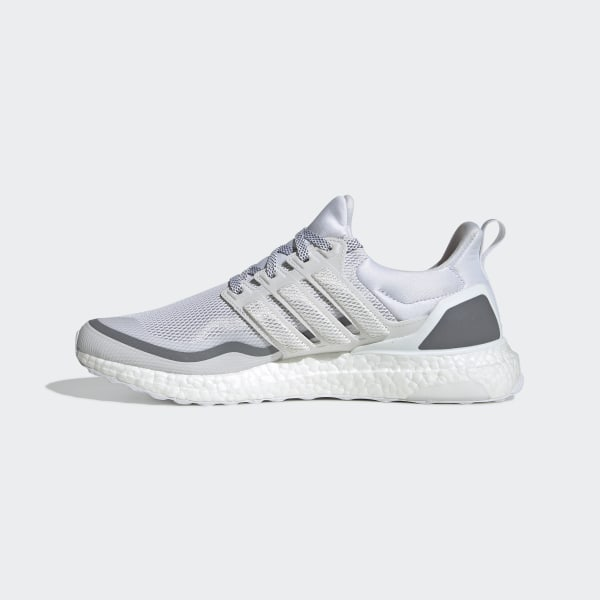 Details about adidas UltraBOOST Reflective White Grey Mens Running Shoes EG8104