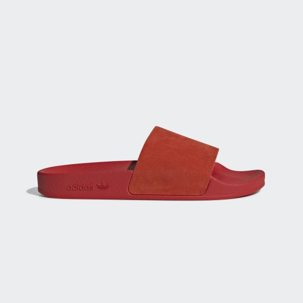 adidas Adilette Slides - Red | adidas US