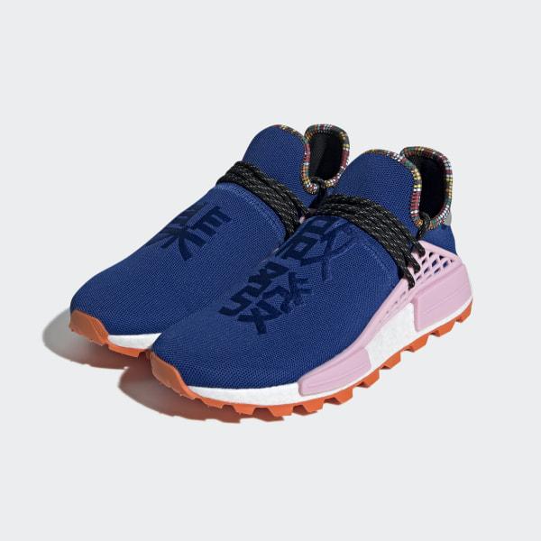 adidas nmd bleu et orange