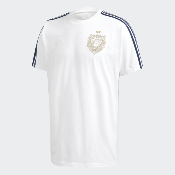 Real Madrid LNY T-Shirt White FI4832