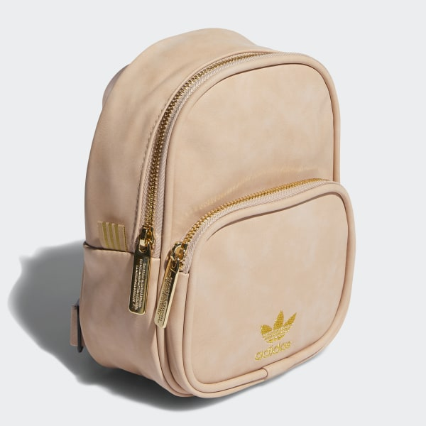adidas Faux Suede Mini Backpack Pink | adidas US
