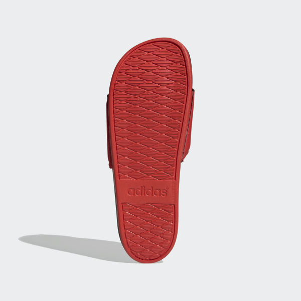 adidas Adilette Comfort Slides - Red | adidas UK