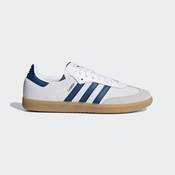 adidas samba uomo blue