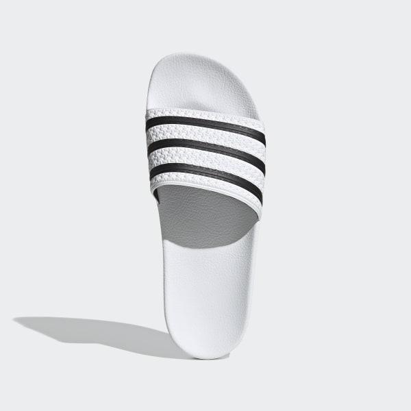 Adidas Slippers Adilette Wit Heren 280648   Kicksshop.nl