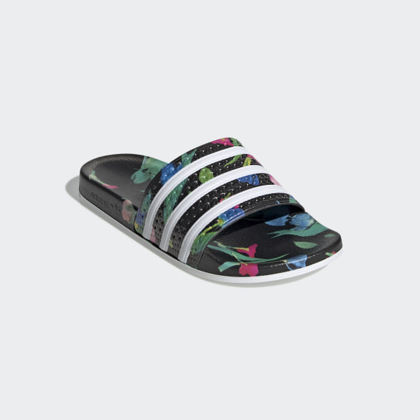 adidas Originals ADILETTE SLIP ON DESIGN SHOES Menn svart