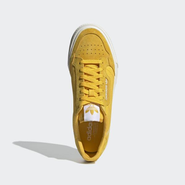 adidas Continental Vulc Shoes Gold | adidas Turkey