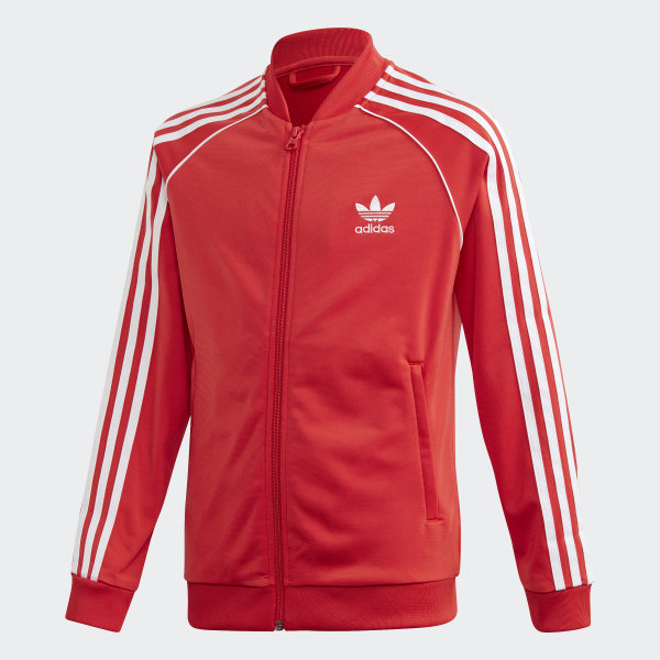 The classic look of the adidas SST track jacket gets a