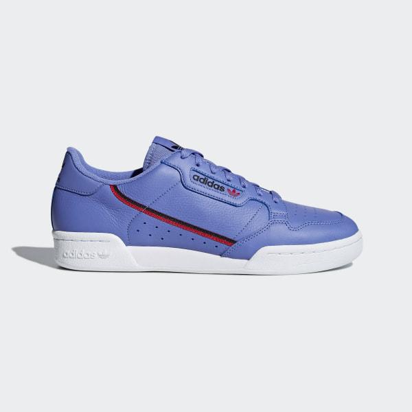 Adidas Continental 80 Black Scarlet | Men's Sneakers