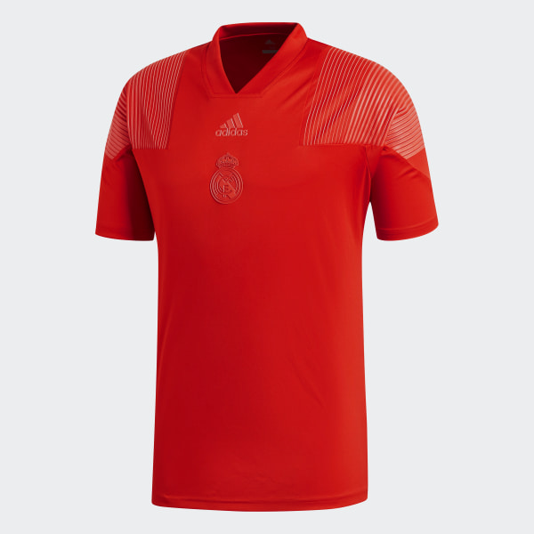 Real Madrid Icon T-Shirt Vivid Red CW8704