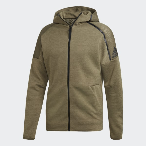 Discount Adidas Z.N.E 2 Black Hoodie for Men Outlet