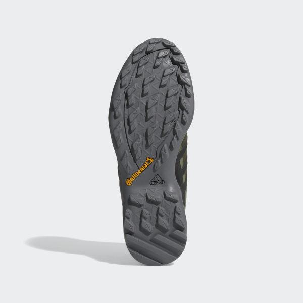 adidas W TERREX SWIFT R MID GTX, Black Black Solar Blue
