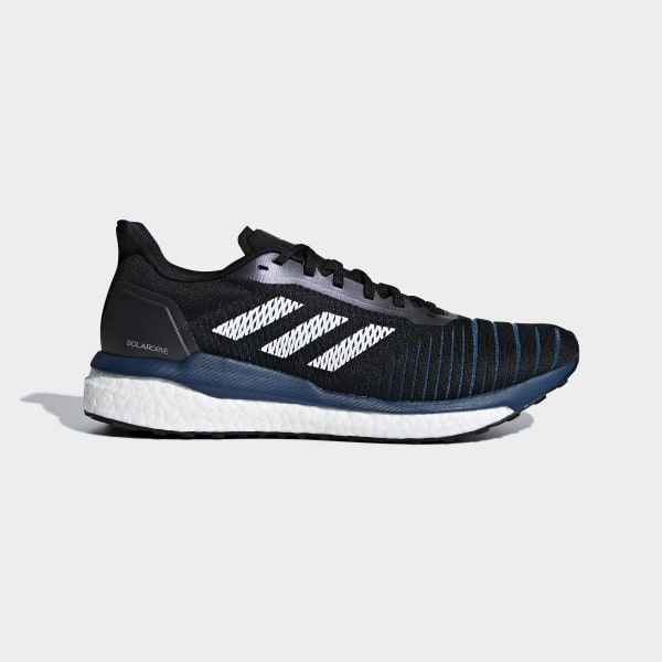 adidas Mens Supernova Sequence 7 Boost Stability Running Shoes WhiteBlackSolar Red