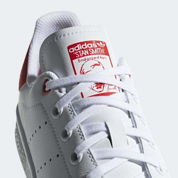 ADIDAS ORIGINALS STAN Smith J Unisexe Chaussures de Sport Basket Cuir G27631