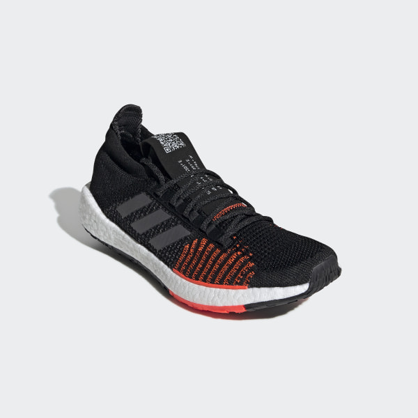 Pulseboost HD Shoes Core Black / Grey / Solar Red FU7333