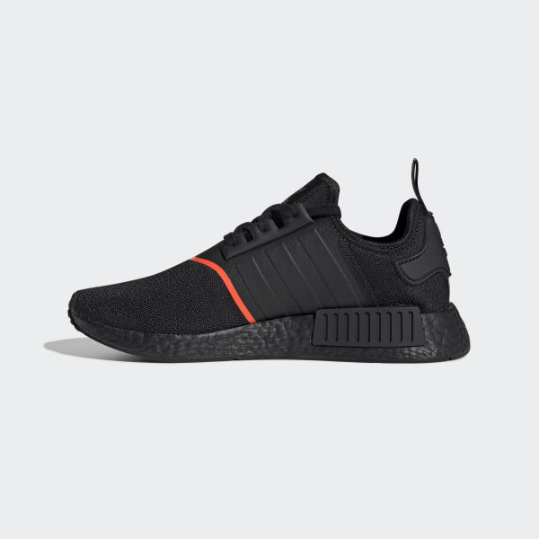 adidas NMD R1 Core Black Solar Red EE5107 Release Date 1