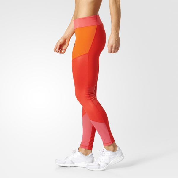adidas Femmes Ultimate Long Tights Red   adidas Canada
