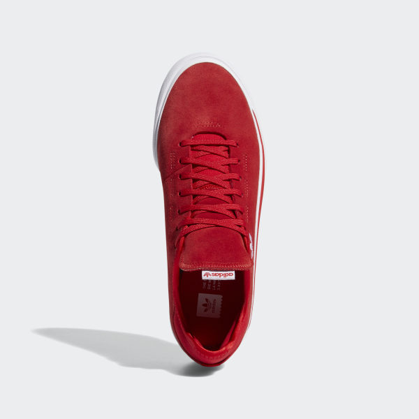 Mens Adidas Shoes | Adidas Skateboarding Sabalo Shoes Scarlet White Scarlet