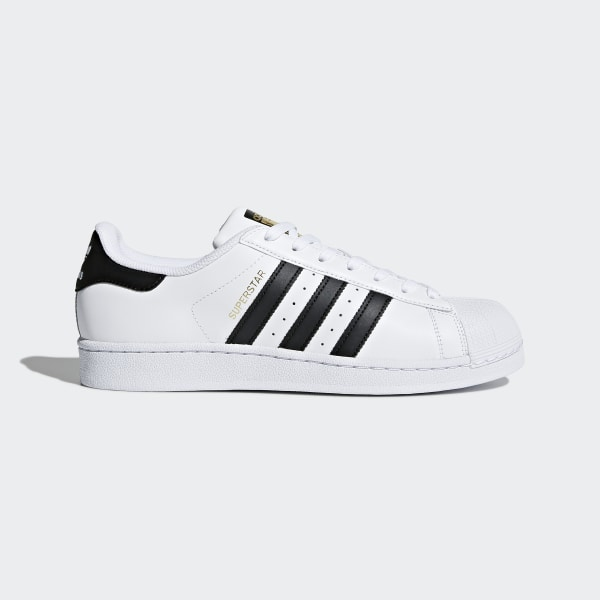 adidas Unisex Kinder Superstar J Low Top, Weiß Core Black