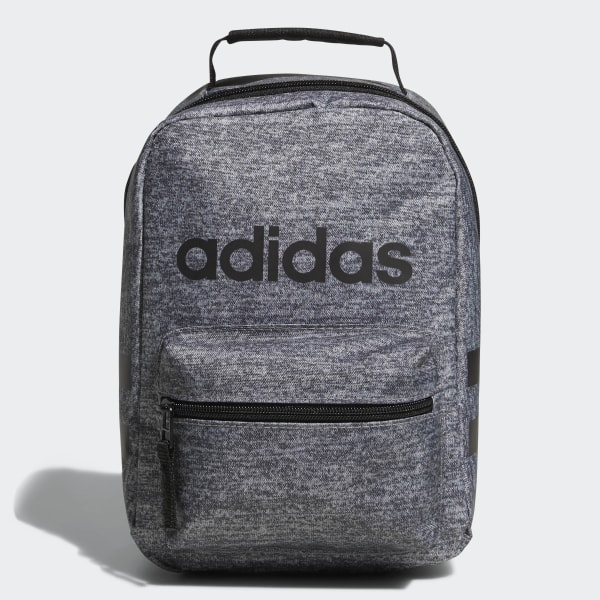 Insulated School Tote Bag NEW Adidas Santiago Lunch Bag Sale Black /& White