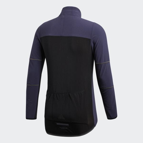 adidas Climaheat Cycling Winter Jacke Blau | adidas Austria