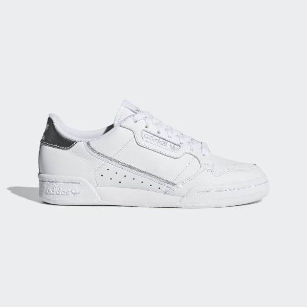 adidas Continental 80 Shoes - White | adidas UK