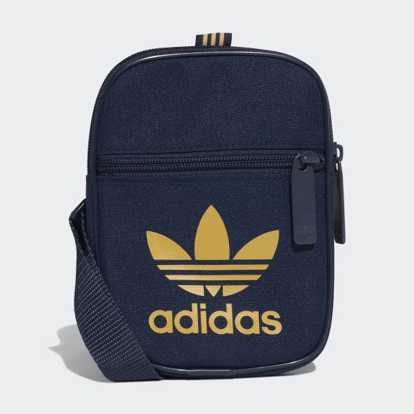 best choice best loved great deals 2017 adidas Trefoil Festival Bag - Blue | adidas UK