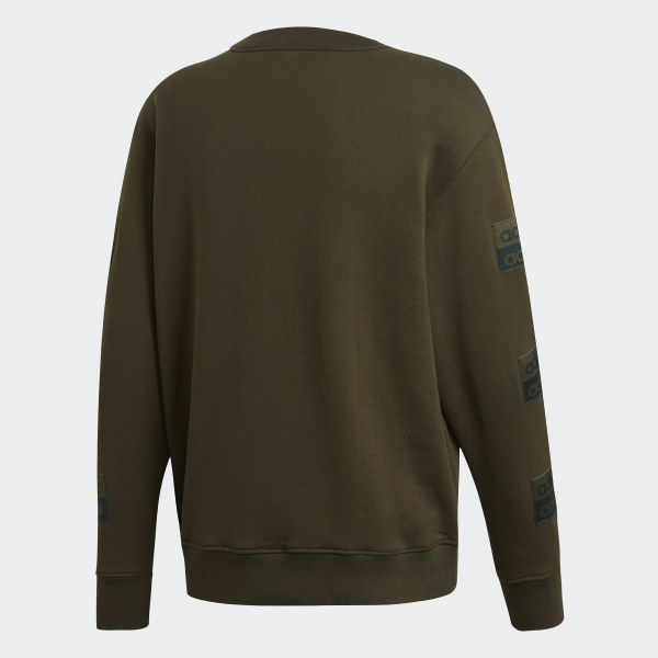 adidas R.Y.V. Crewneck Sweatshirt Green | adidas US