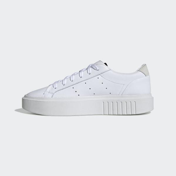 zapatillas adidas blancos