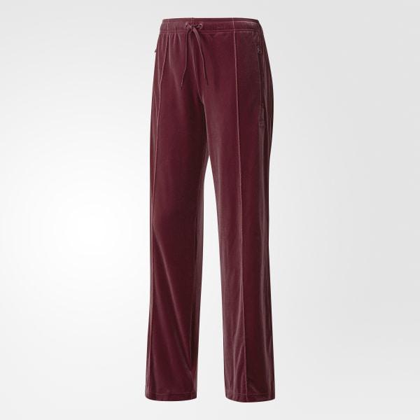 adidas Velvet Vibes Sailor Pants Red | adidas UK