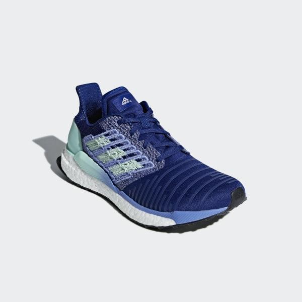 adidas Solar Boost Damen Laufen Schuhe Lila BB6602